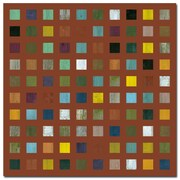 Trademark Fine Art Michelle Callkins 'Rustic Wooden Abstract VII' Canvas Art