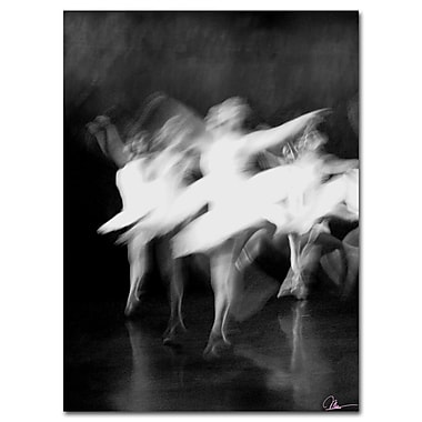 Trademark Fine Art Dancers by Martha Guerra Canvas Ready to Hang Art 14x19 Inches