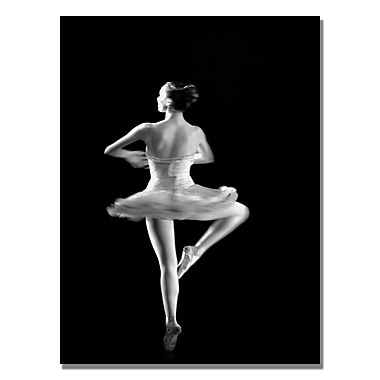 Trademark Fine Art Martha Guerra 'Ballerina V' Canvas Art 30x47 Inches