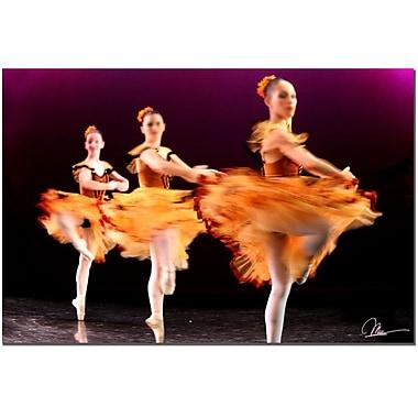 Trademark Fine Art Martha Guerra 'Ballet' Canvas Art, MG037-C2232GG