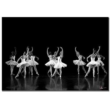 Trademark Fine Art Martha Guerra 'Ballerina' Canvas Art, MG055-C2232GG