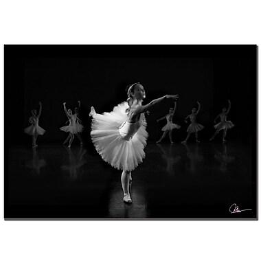 Trademark Fine Art Martha Guerra 'Ballerina IV' Canvas Art, MG059-C2232GG
