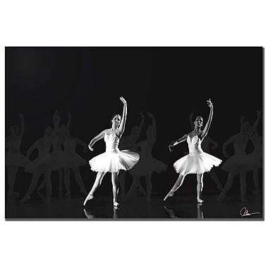 Trademark Fine Art Martha Guerra 'Ballet' Canvas Art, MG065-C1824GG