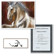 Trademark Fine Art Odyssey in White I by Michelle Moate Canvas Art