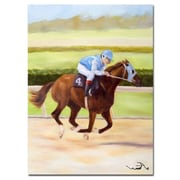 Trademark Fine Art Horse of Sport I by Michelle Moate-Canvas Art