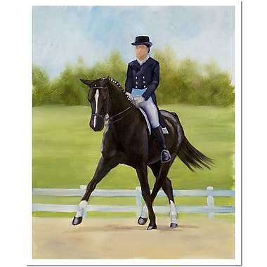 Trademark Fine Art Horse of Sport X by Michelle Moate Giclee Art 1