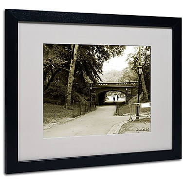 Trademark Fine Art Miguel Paredes 'Passage I' Matted Art Black Frame 16x20 Inches
