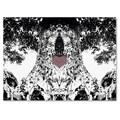 Trademark Fine Art Miguel Paredes 'Heart I' Canvas Art 18x24 Inches