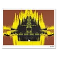 Trademark Fine Art Miguel Paredes 'Yellow Trees' Canvas Art 30x47 Inches