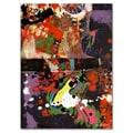 Trademark Fine Art Miguel Paredes 'Urban Collage IV' Canvas Art 18x24 Inches