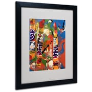 Trademark Fine Art Miguel Paredes 'Japanese I' Matted Art Black Frame 16x20 Inches