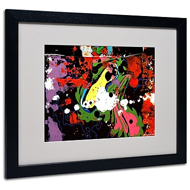 Trademark Fine Art Miguel Paredes 'Fisheye' Matted Art Black Frame 16x20 Inches