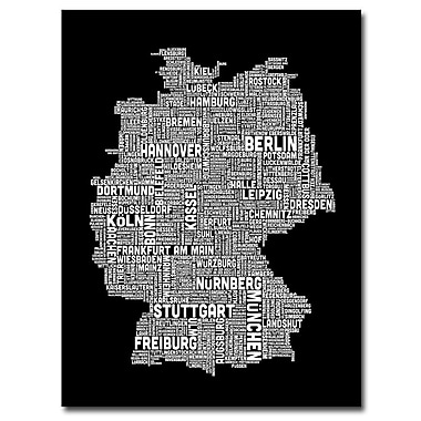 Trademark Fine Art Michael Tompsett 'Germany II' Canvas Art 24x32 Inches