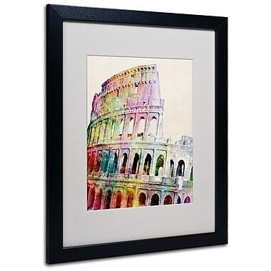 Trademark Fine Art Michael Tompsett 'Colosseum' Canvas Art 14x19 Inches