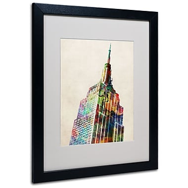 Trademark Fine Art Michael Tompsett 'Empire State' Canvas Art 14x19 Inches