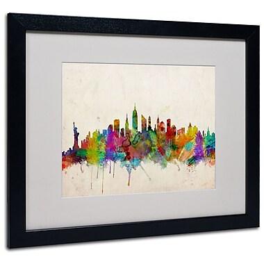 Trademark Fine Art Michael Tompsett 'New York Skyline' Canvas Art 14x19 Inches