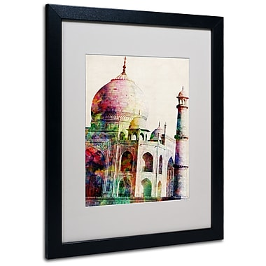 Trademark Fine Art Michael Tompsett 'Taj Mahal' Canvas Art 14x19 Inches