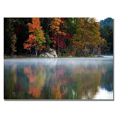 Trademark Fine Art MCat 'Old Autumn' Canvas Art