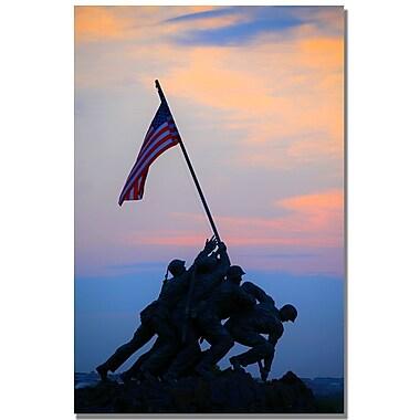 Trademark Fine Art MCat 'Pinacle of Patriotism' Canvas Art