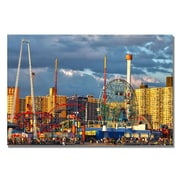 Trademark Fine Art CATeyes 'Coney Island' Canvas Art