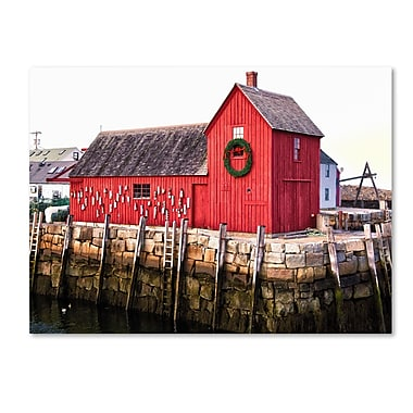 Trademark Fine Art CATeyes 'Boston 5' Canvas Art 30x47 Inches