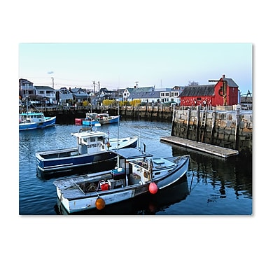Trademark Fine Art CATeyes 'Boston 7' Canvas Art 22x32 Inches