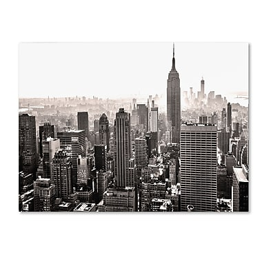 Trademark Fine Art CATeyes 'Manhattan' Canvas Art 14x19 Inches