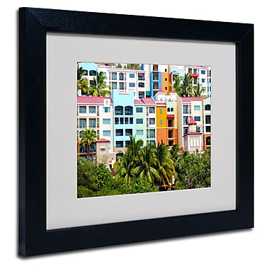 Trademark Fine Art CATeyes 'Virgin Islands 2' Matted Framed Art