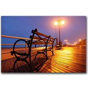 Trademark Fine Art Boardwalk by CATeyes Canvas Art Ready to Hang