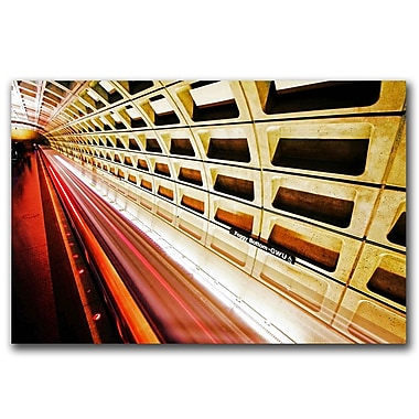 Trademark Fine Art Stronger in Contrast by CATeyes Canvas Ready to Hang 22x32 Inches