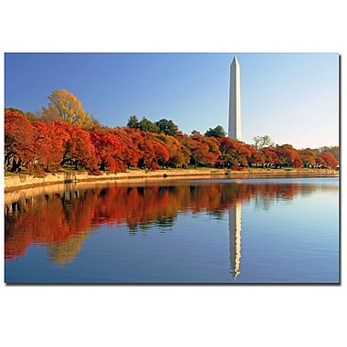 Trademark Fine Art CATeyes 'Watch the Leaves Turn' Canvas Art