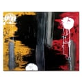 Trademark Fine Art Hurt by Nicole Dietz-Gallery Wrapped Canvas Art 14x18 Inches