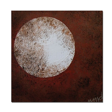 Trademark Fine Art Moon by Nicole Dietz-18x22 Canvas Ready to Hang
