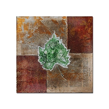 Trademark Fine Art Rusty Leaf II by Nicole Dietz-Canvas Art