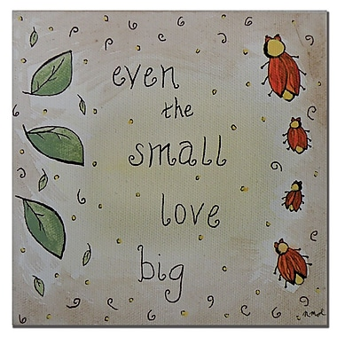Trademark Fine Art Nicole Dietz 'Love Bug' Canvas Art