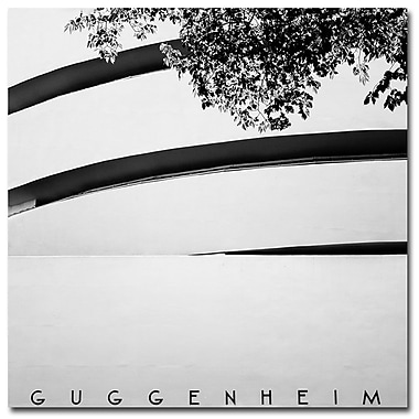 Trademark Fine Art Nina Papiorek 'Guggenheim' Canvas Art