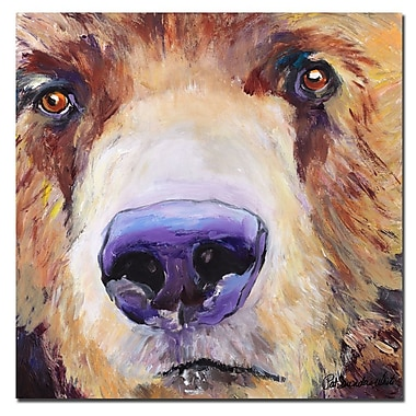 Trademark Fine Art Pat Saunders-White 'The Sniffer' Canvas Art