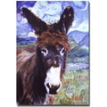 Trademark Fine Art Pat Saunders-Whtie 'Carrot Top' Canvas Art
