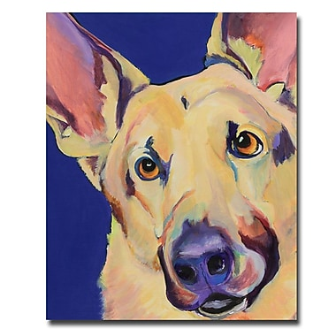 Trademark Fine Art Pat Saunders-White 'Freida' Canvas Art
