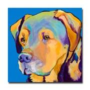 Trademark Fine Art Pat Saunders-White 'Gunner' Canvas Art