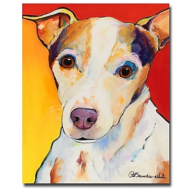 Trademark Fine Art Pat Saunders-White 'Polly' Canvas Art