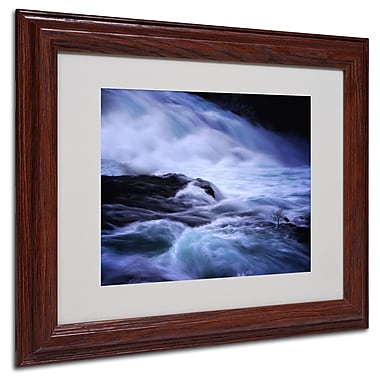 Philippe Sainte-Laudy 'Distractions' Matted Framed Art - 11x14 Inches - Wood Frame