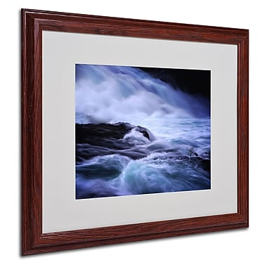Philippe Sainte-Laudy 'Distractions' Matted Framed Art - 16x20 Inches - Wood Frame