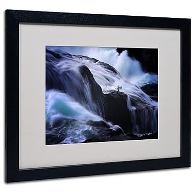 Trademark Fine Art Philippe Sainte-Laudy 'Liquide Illusion' Matted Art Black Frame 16x20 Inches
