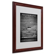 Philippe Sainte-Laudy 'Photography B&W' Matted Framed Art - 16x20 Inches - Wood Frame