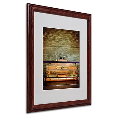 Philippe Sainte-Laudy 'Photography' Matted Framed Art - 16x20 Inches - Wood Frame