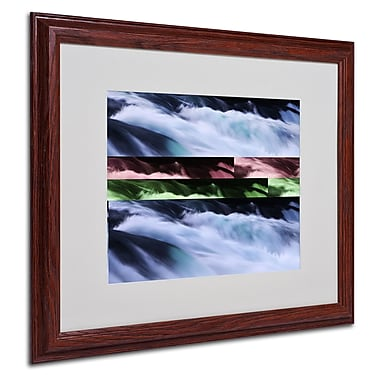Philippe Sainte-Laudy 'Polaris' Matted Framed Art - 16x20 Inches - Wood Frame