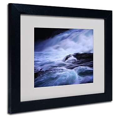 Trademark Fine Art Philippe Sainte-Laudy 'Blue Stream' Matted Framed Art