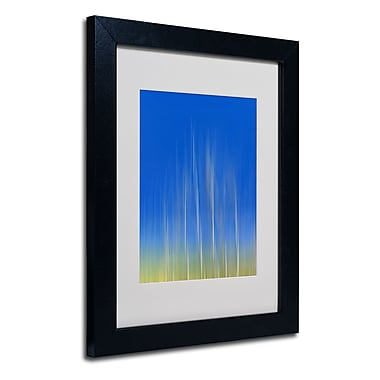 Trademark Fine Art Philippe Sainte-Laudy 'Vertical Activity' Matted Framed Art
