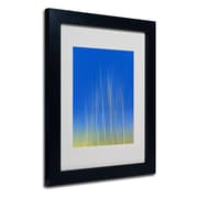 Trademark Fine Art Philippe Sainte-Laudy 'Vertical Activity' Matted Art Black Frame 11x14 Inches